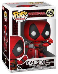 Deadpool på scooter vinylfigur 45