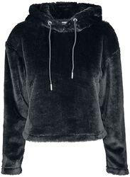 Oversize teddy hoodie