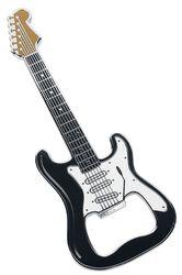 Gitarflaskeåpner - klassisk svart