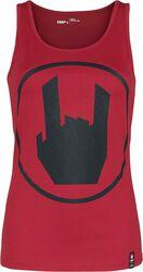 Rød Topp med EMP Logo