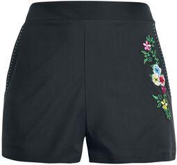 Aubrey Embroidery Shorts