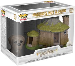 Hagrid's Hut with Fang (Pop! Town) Vinylfigur 08
