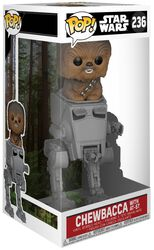Chewbacca med AT-ST Deluxe Pop! vinylfigur 236