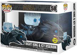 Night King & Icy Viserion POP Rides vinylfigur 58