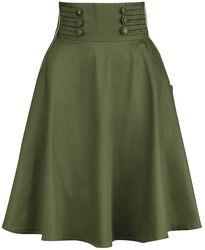 Martha 40s Flared Skirt