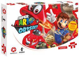 Odyssey - Mario and Cappy (280 Pieces)