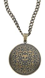 Skull Coin Necklace