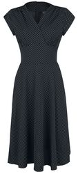 Tabby Polka Dot Tea Dress