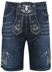 Korte jeans - Lederhosen