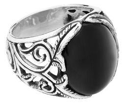 Stort svart ornament