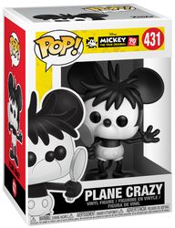 Mickey's 90th Anniversary - Plane Crazy Vinyl Figure 431