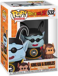 Z - King Kai and Bubbles Vinylfigur 532