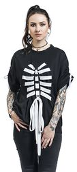 Strung Up Skeleton Tee