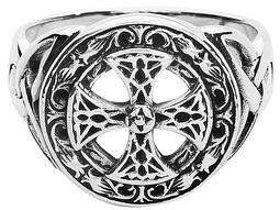 Celtisk kors i sølv