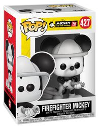 Mickey's 90th Anniversary - Firefighter Mickey Vinylfigur 427