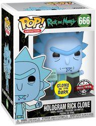 Hologram Rick Clone Vinyl Figure 666