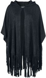 Black Tassle Cape