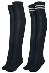 Knestrømper 2-pakning