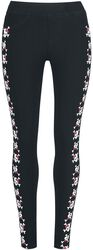 Leggings with Playful Skull Print