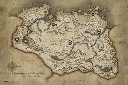 Skyrim Map