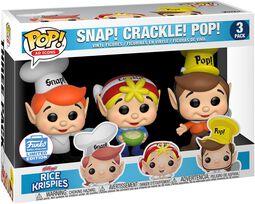 Kellogg's Snap Crackle Pop - Rice Krispies (3 Pack) (Funko Shop Europe)