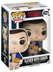 Eleven with Eggos (Chase Edition mulig) Vinylfigur 421
