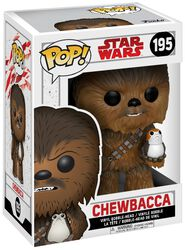 Episode 8 - The Last Jedi - Chewbacca with Porg Vinyl Bobble Head 195