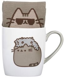 Pusheen and Stormy - Krus med sokker