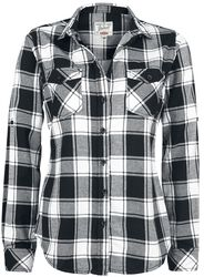 Amy Flanell - Rutete skjorte