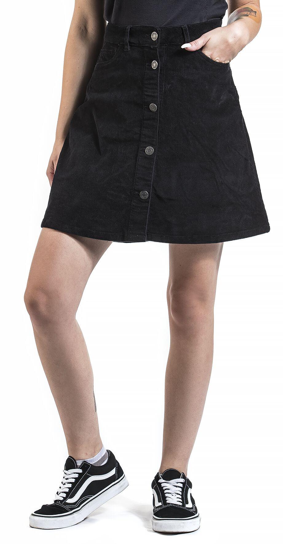 6f32526b7d8d9b Sunny Short Corduroy Skater Skirt | Noisy May Middellangt skjørt | EMP