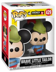 Mickey's 90th Anniversary - Brave Little Tailor Mickey Vinylfigur 429