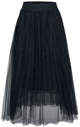 Sophia Stud Net Skirt