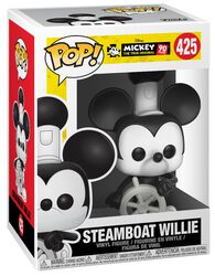 Mickey's 90th Anniversary - Steamboat Willie Vinylfigur 425