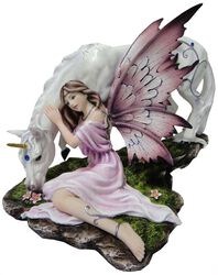 Calmina - Fairy with Unicorn