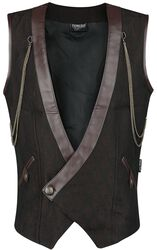 Gothic Men's Doublebreasted Vest