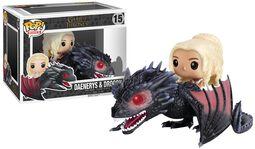 Daenerys Targaryen & Drogon Vinylfigur 15