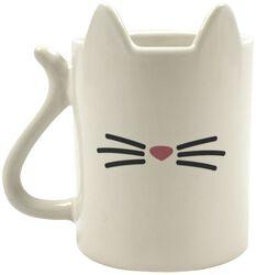 Kaffekopp dyr Katt