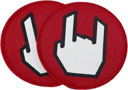 EMP Rockhand-lapper 2-pakning