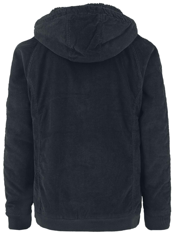 2d6e3c8a Hooded Corduroy Jacket | Urban Classics Vinterjakke | EMP