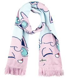 Jigglypuff Pastel Knitted Scarf