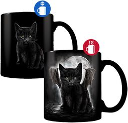Bat Cat - Heat-Change Mug