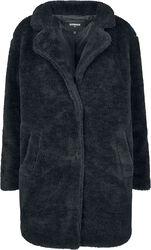 Ladies Oversized Sherpa Coat