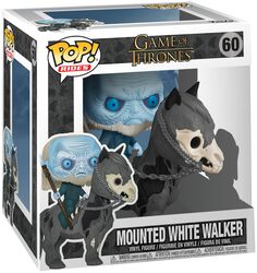 Mounted White Walker POP Rides Vinylfigur 60