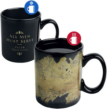 Westeros Map - Heat-Change Mug