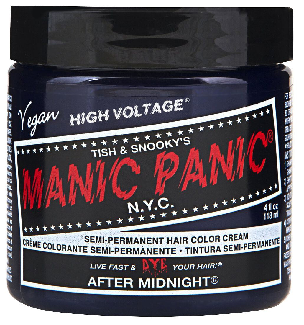 f01e94a3 After Midnight Blue - Classic | Manic Panic Hårfarge | EMP