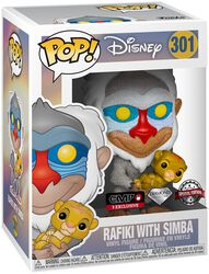 Rafiki with Simba (Glitter) Vinyl Figure 301