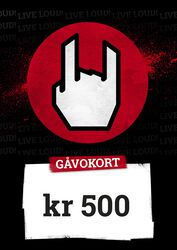 Gavokort 500,00 NOK