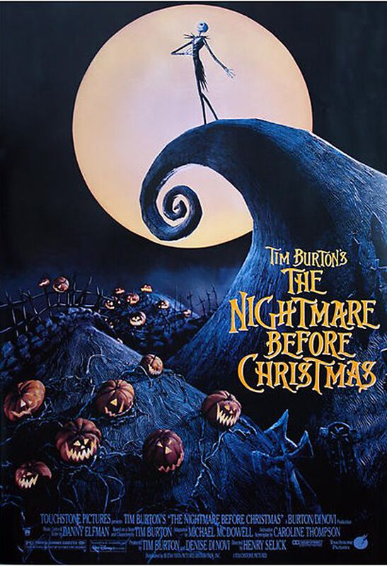 The Nightmare Before Christmas | The Nightmare Before Christmas Poster | EMP