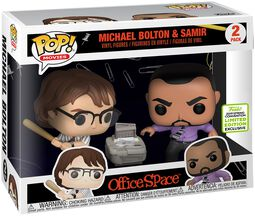 ECCC 2019 - Office Space Michael Bolton and Samir (2 Pack) vinylfigur