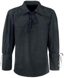 Medieval Skjorte med blonder